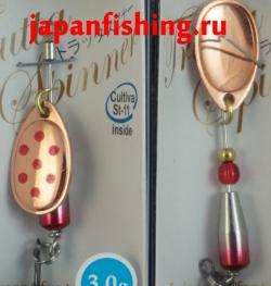 Вертушка Shimotsuke Trutta Spinner (3g)