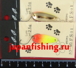 Блесна Paw (2.5g)