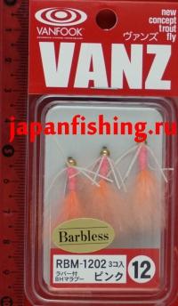 Vanfook Vanz RBM-1202 #12 3шт мухи