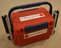 Наклейка светонакопительная 70мм Х 300мм GLOW с логотипом japanfishing.ru
