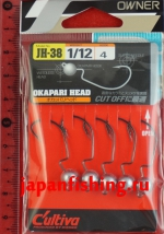 C`ultiva JH-38 Okapari Head 2.34g №4 5шт.