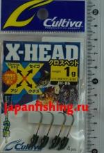 C`ultiva JH-86 1g #7 4шт. X-head