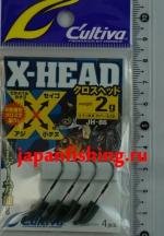C`ultiva JH-86 2g #5 4шт. X-head