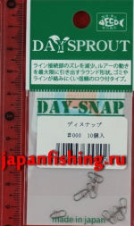Daysprout Day-Snap #000 10шт. застёжки паяные