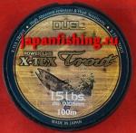 Duel X-Tex Trout 1.5lb 0.105mm 100m orange моно
