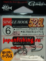 Gamakatsu Big Fish 52BL #6 spurtblack 8шт. крючки