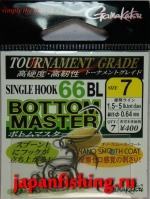 Gamakatsu Bottom Master 66BL #7 gunmetal 7шт.+кольца