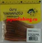 """Gary Yamamoto Kut Tail Worm 3.5"""" (51875) Cinn Bl/Shad/Clr"""