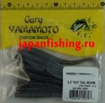 "Gary Yamamoto Kut Tail Worm 3.5"" (52797) Natural Shad"