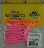 "Gary Yamamoto Leg Worm 2.5"" (03690) Buble Gum 10шт."