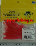 "Gary Yamamoto Leg Worm 2.5"" (60297) 10шт"