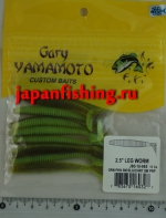 "Gary Yamamoto Leg Worm 2.5"" (60327) 10шт."