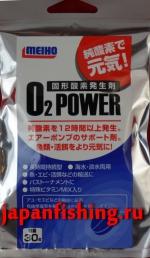 Meiho O-2 Power 30g таблетка для обогащения воды кислородом