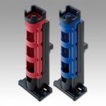 Meiho Rod Stand BM-280 (Red+Black) стойка под Light/Hard- спиннинги съёмные для ящиков