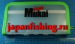 Mukai кошелёк для блёсен с пенкой зелёный 205х110