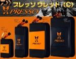Daiwa Presso-2018 S-orange (9×11×3.5cm) кошелёк д/блёсен