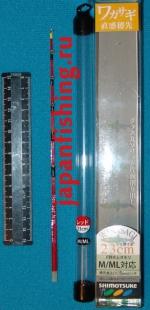 Shimotsuke M/ML 23см, сторожок-хлыст красный