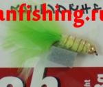 Vanfook Leech 0.8g #10 BL (26580) муха