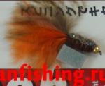 Vanfook Leech 0.8g #10 BL (26603) муха