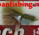 Vanfook Leech 0.8g #10 BL (26641) муха