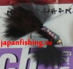 Vanfook Leech 1.2g #8 BL (26726) муха