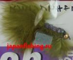 Vanfook Leech 1.2g #8 BL (26733) муха