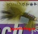 Vanfook Leech 1.2g #8 BL (26740) муха