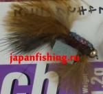Vanfook Leech 1.2g #8 BL (26757) муха