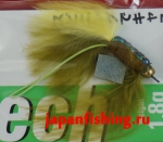 Vanfook Leech 1.8g #8 BL (30044) муха с усами