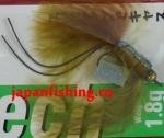 Vanfook Leech 1.8g #8 BL (30068) муха с усами