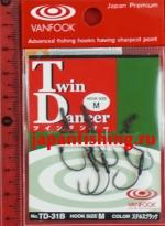 Vanfook Twin Dancer TD-31B #M связка из 2-х крючков 3шт