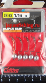 C`ultiva JH-38 Okapari Head 1.8g №4 5шт.