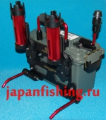 ящик Plano 1312 со стойками Tanahashi под 2 спин. CSM-1312 Red