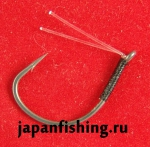 Daiwa Bassers Worm Hook SS G-WKY #1/0 4шт