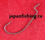 Daiwa Bassers Worm Hook SS SOS #1/0 6шт