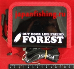 Forest-2017 12.5х9.5х4.5см black кошелёк д/блёсен