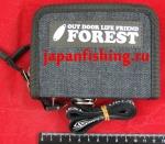 Forest-2017 12.5х9.5х4.5см jeans кошелёк д/блёсен
