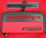 Forest-2017 21.5х9.5х4.5см red кошелёк д/блёсен