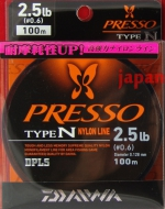 Daiwa Presso Type-N 2.5lb 0.128mm 100m моно