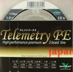 плетёный шнур Daysprout Telemetry PE 3braid #1.0 16lb 150m
