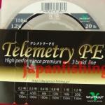 плетёный шнур Daysprout Telemetry PE 3braid #1.2 20lb 150m