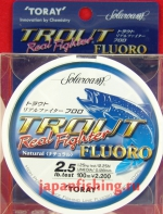 Toray Trout Real Fighter 2.5lb 0.128m 100m флюр