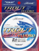 Toray Trout Real Fighter 2lb 0.117mm 100m флюр