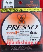 Daiwa Presso Type-F 4lb 0.165mm 100m флюр